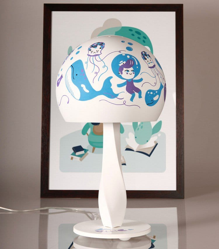 hikimi lamp