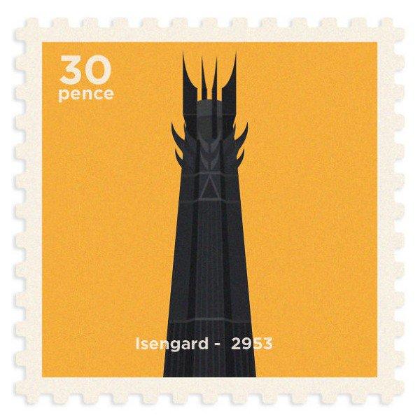 isengard stamp