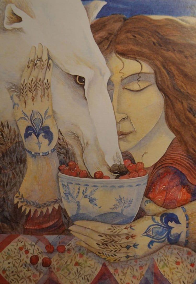 jackie-morris-bear-paintings-glove