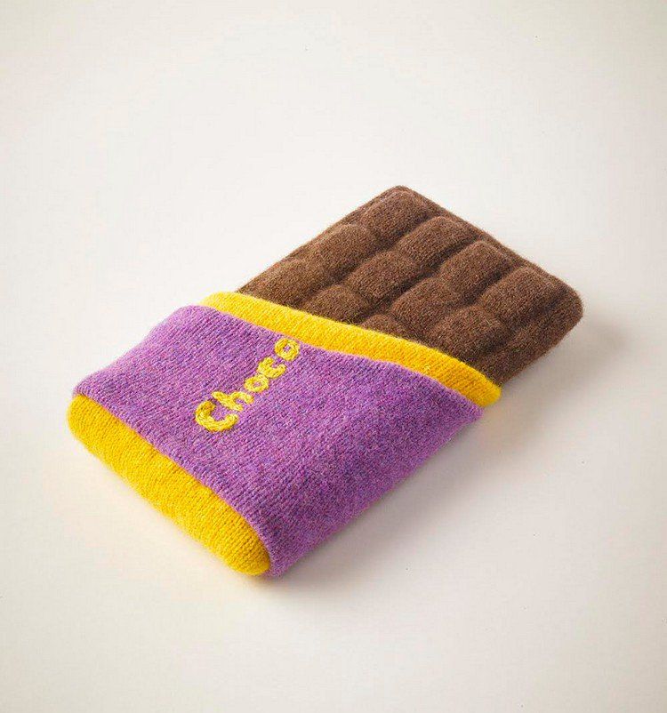 knitted chocolate