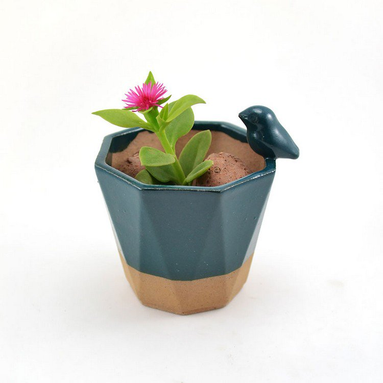 little bird planter