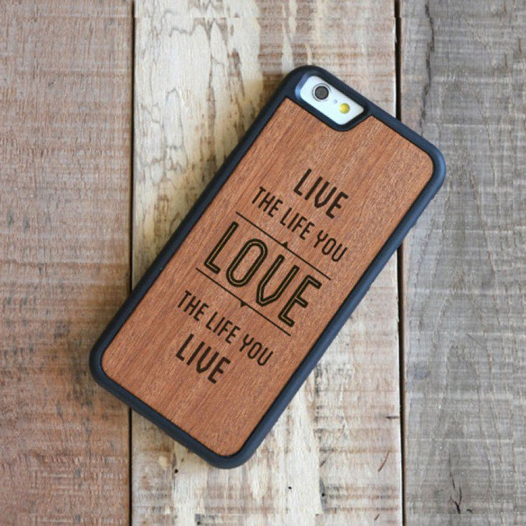 live the life you love phone case