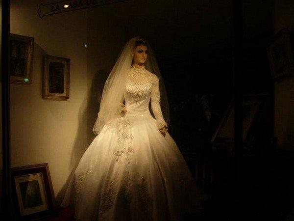 mannequin in dark
