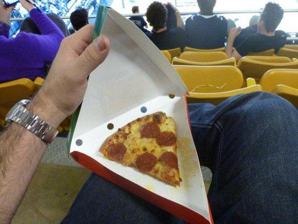 mini pizza slice