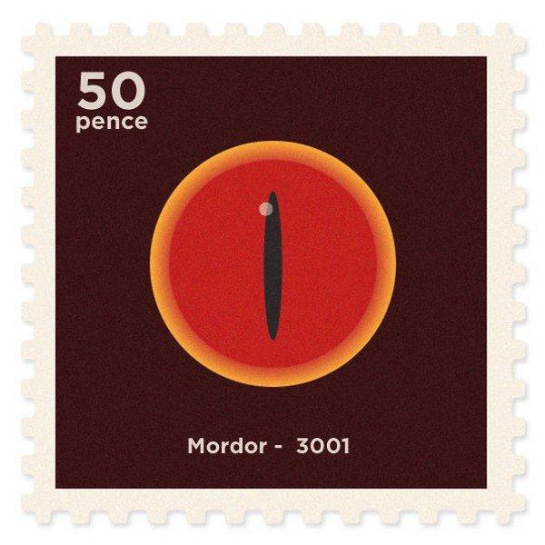 mordor stamp