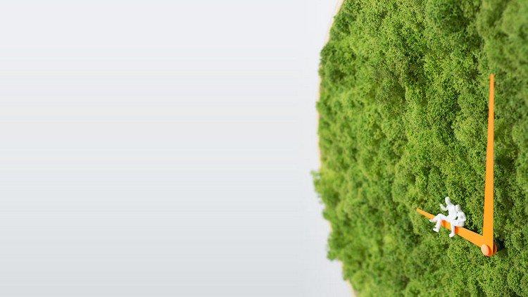 moss clock hands people