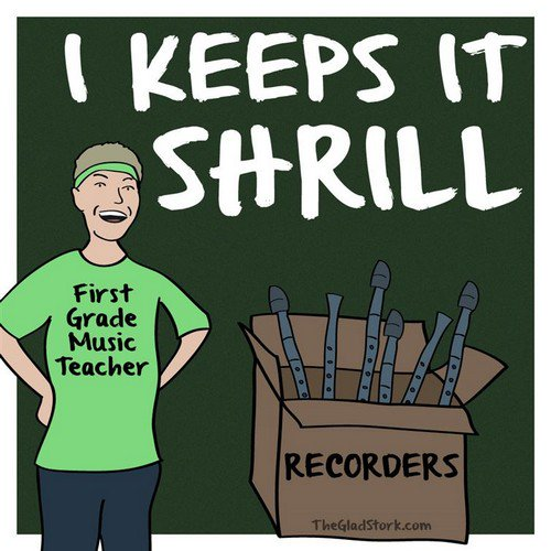 music teacher recorders