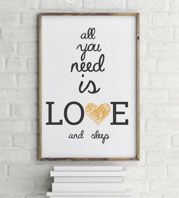 need love sleep