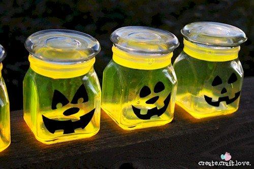 neon jars
