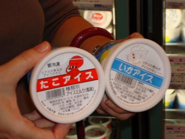 octopus ice cream