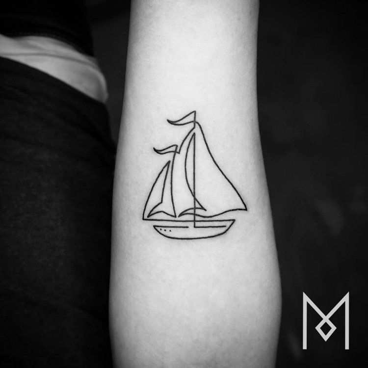 one-line-tattoo-mo-ganji-boat