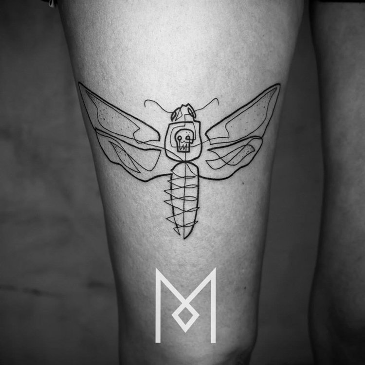 one-line-tattoo-mo-ganji-fly