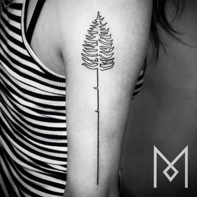 one-line-tattoo-mo-ganji-tree