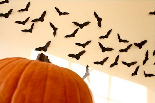 paper bats pumpkin