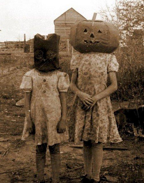 pumpkin head girls
