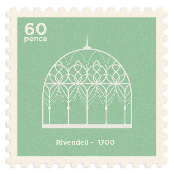 rivendell stamp