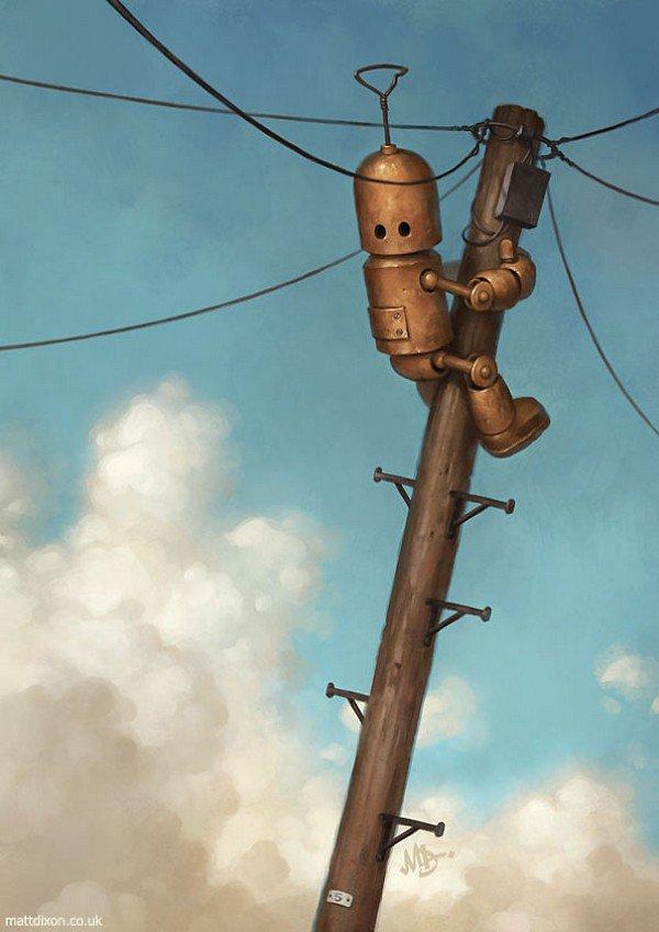 robot pole