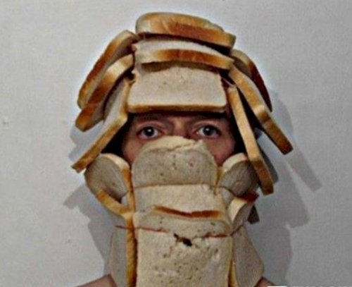 scary halloween costumes bread - The Scariest Halloween Costumes