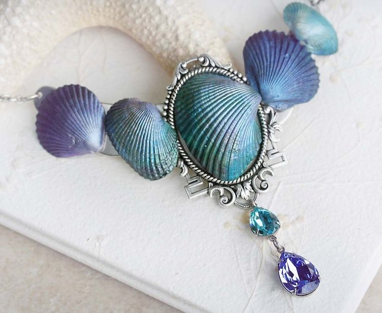 Beautiful Jewelry Made From Seashells By Jessica Galbreth