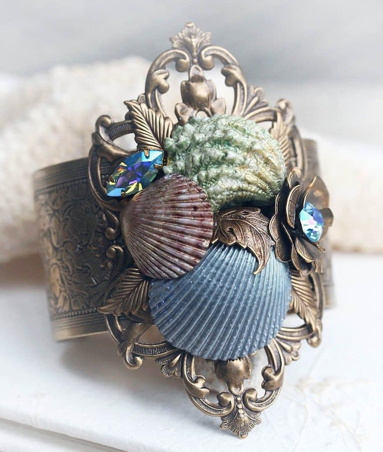 Beautiful Jewelry Made From Seashells By Jessica Galbreth