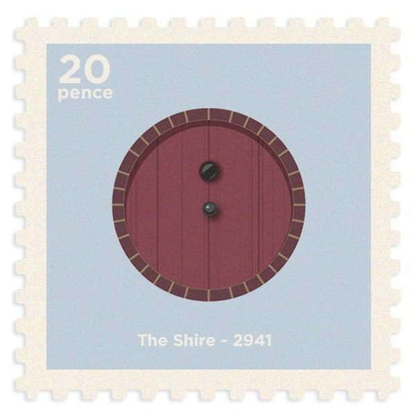 shire stamp