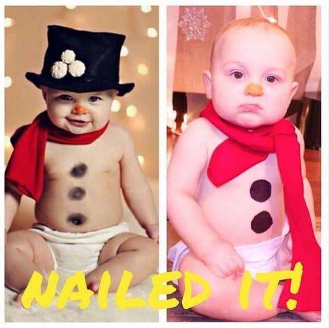 snowman babies