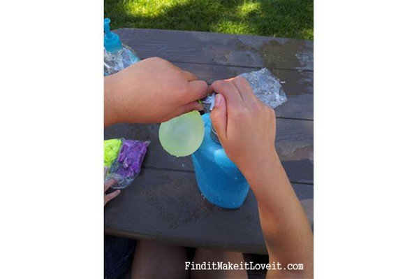soap pump water balloons