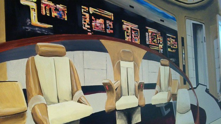 Great ... Amazing Star Trek Wall Mural Design Part 20
