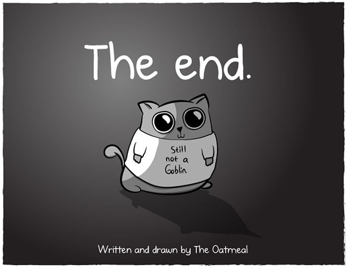 the end cat