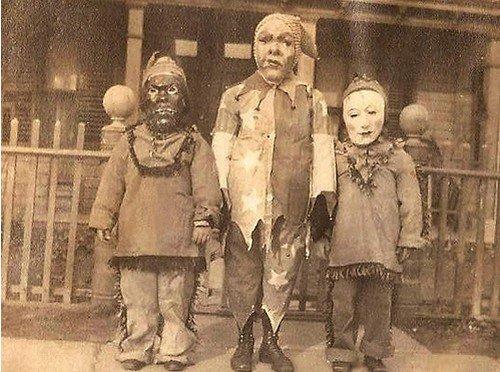 trio masked kids