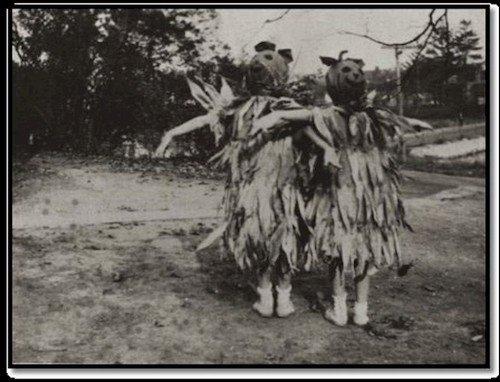 weird scarecrows