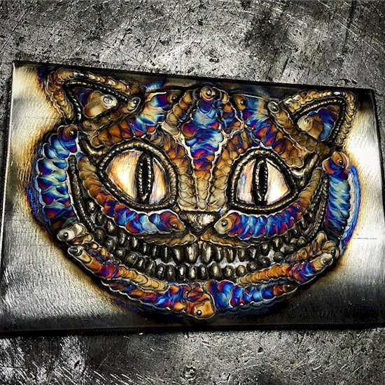 welding-art-cheshire-cat