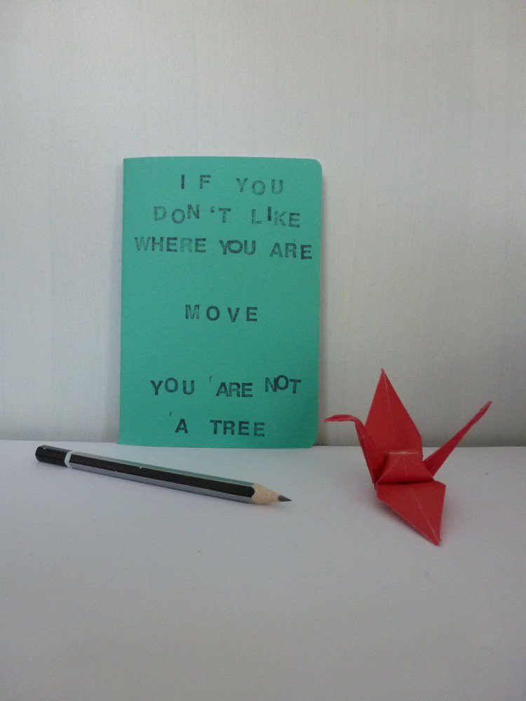 youre not a tree