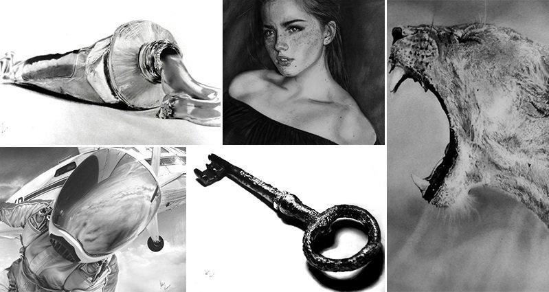 Akshay Kumar S Black And White Drawings Look Like Photographs