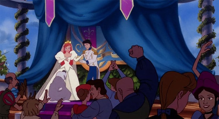 Ariel-and-Erics-Wedding-in-The-Little-Mermaid