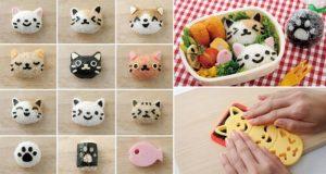 Arnest's Omusubi Nyan Rice Balls Kitty Heads