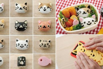 Arnest's Omusubi Nyan Rice Balls Kitty Heads
