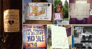 Awesome Yard Sale Signs
