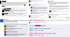Awkward Facebook Breakups