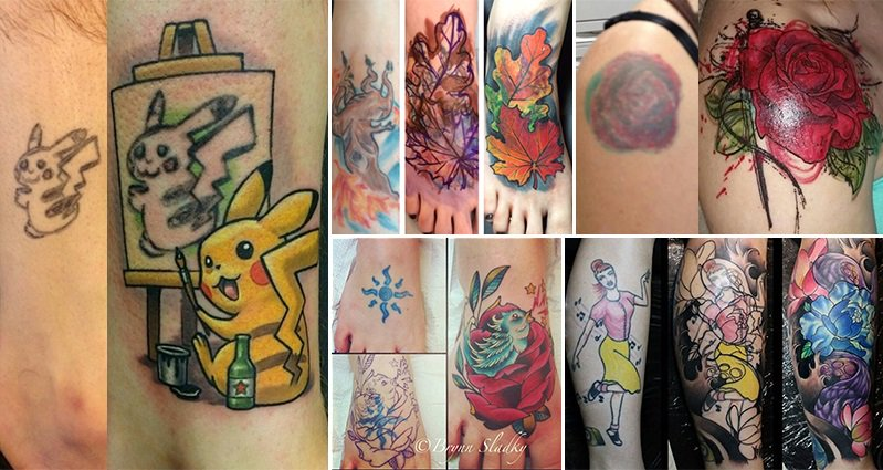 16 bad tattoos that were covered up amazingly well