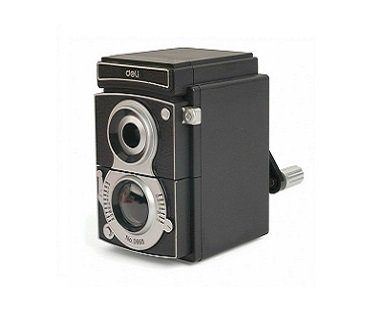 Camera Pencil Sharpener black