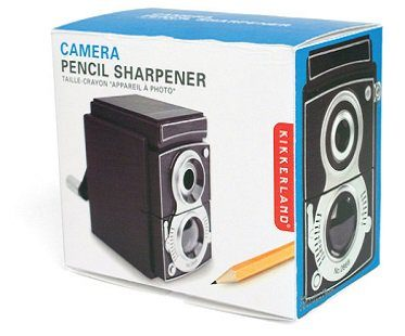 Camera Pencil Sharpener box