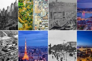 Cities Changed Old Modern 100 Years