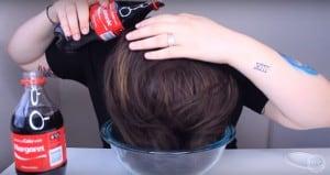 Coca Cola Hair Hack
