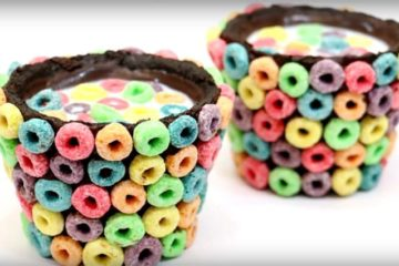 Cookie Rainbow Oreo Cups