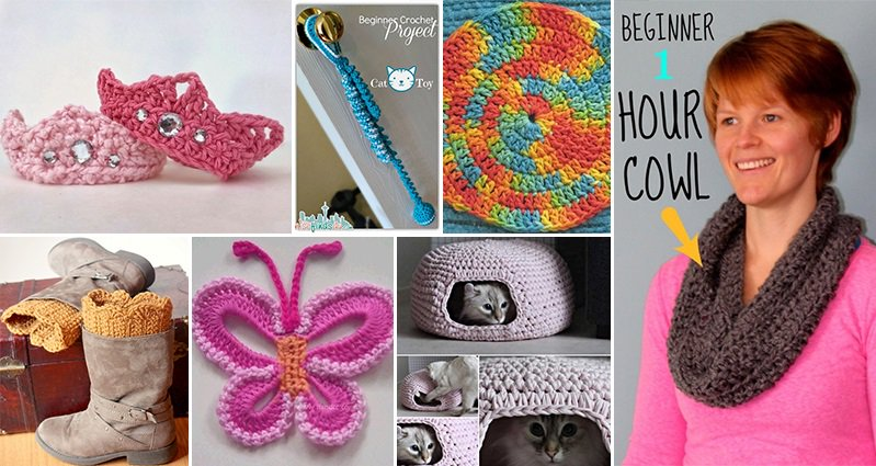Crocheting Projects : 12 Awesome Crochet Projects Even Beginners Can Do
