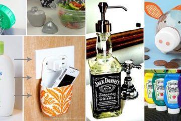 DIY Reuse Old Bottles