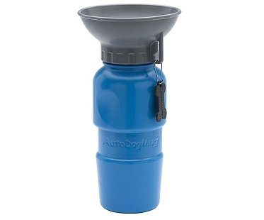 Dog Travel Mug blue