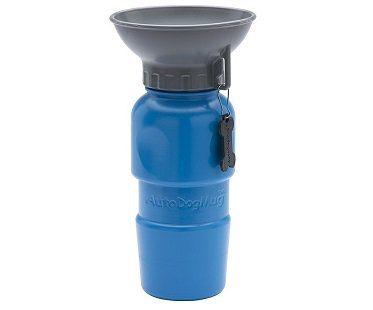 Dog Travel Mug blue
