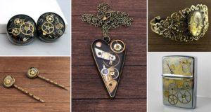 Ernoldas Pocius Old Watches Steampunk Jewelry